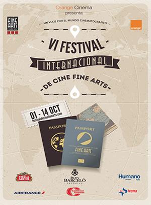 2015 - 6to Festival Internacional de Cine Fine Arts